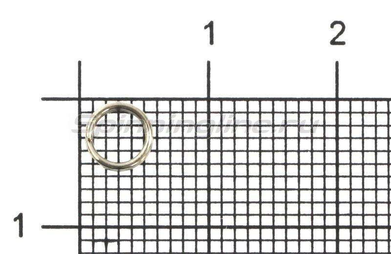 Daiwa - Кольцо заводное Tournament Split Ring 5,4мм №2 - фотография 1