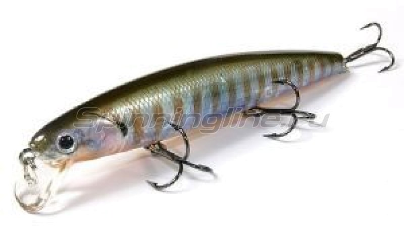 Воблер Lucky Craft Flash Minnow 110SP Ghost Blue Gill 895 -  1
