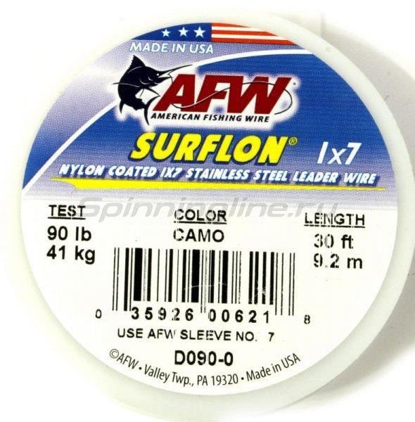 Поводковый материал AFW Surflon 1*7, 9.2м, 41кг D 090-0 -  1