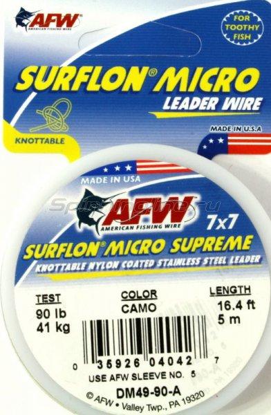 Поводковый материал AFW Surflon Micro Supreme 7*7, 5м, 41кг DM49-90-A -  1