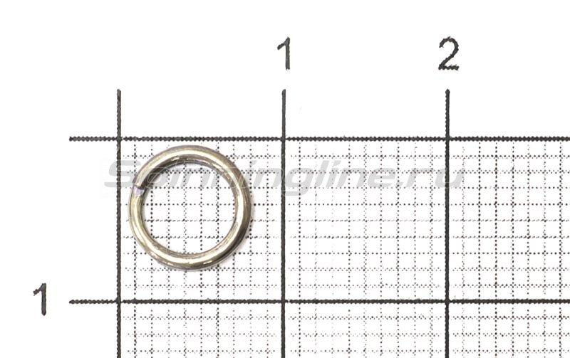 Daiwa - Кольцо заводное Tournament Split Ring 7,1мм №4 - фотография 1