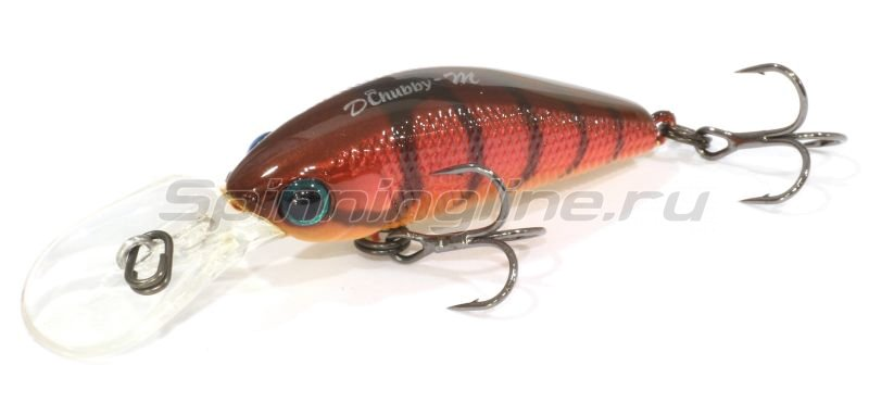Jackall - ������ Diving Chubby Minnow 35SP craw fish - ���������� 1