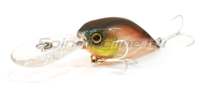 Jackall - Воблер DD Chubby 38F bronze green - фотография 1
