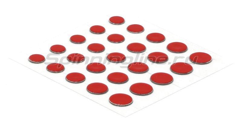 Свинцовые наклейки Power Dots Strike Pro red M -  1