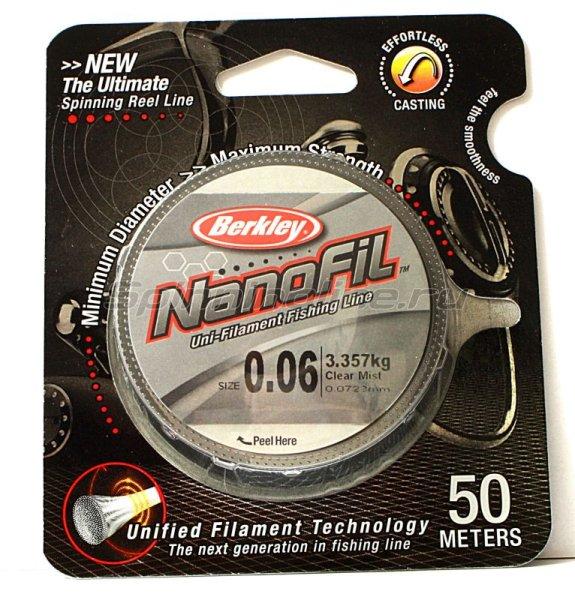 Nanofil 50м 0,06 green -  1