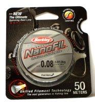 Nanofil 50м 0,08мм yellow