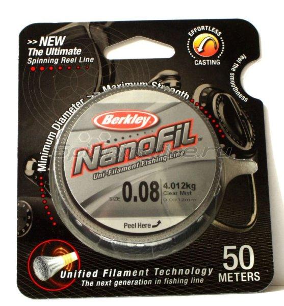 Nanofil 50м 0,08 yellow -  1