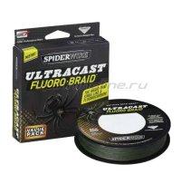 Шнур Fluoro-Braid 110м 0,33мм Green