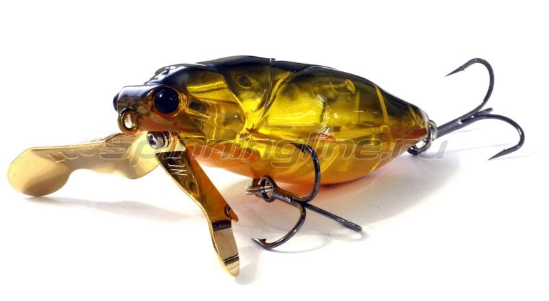 Lucky Craft - Воблер Water Bug 64F CF Kinkuro 395 - фотография 1
