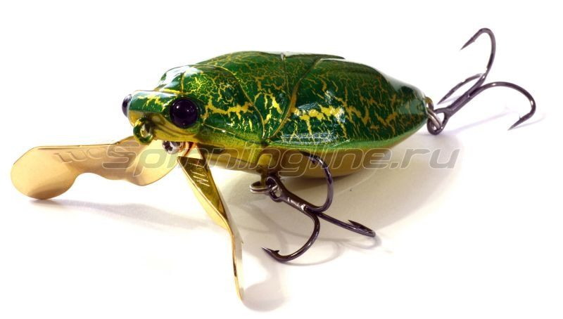 Lucky Craft - Воблер Water Bug 64F AM Green 394 - фотография 1