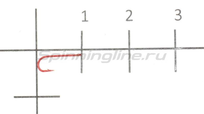 Крючок Round new red №18 -  1