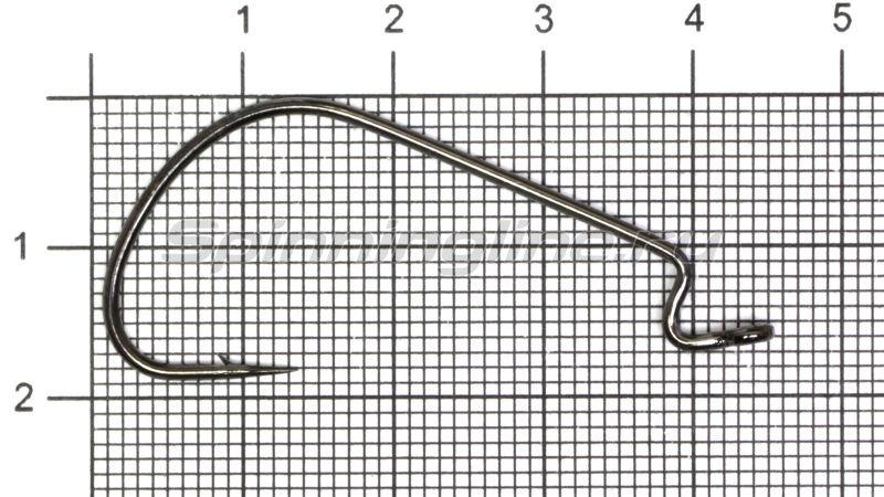 Крючок Wide Range Worm new цвет bln № 1/0 -  1