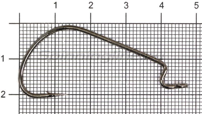 Крючок Wide Range Worm new цвет bln № 2/0 -  1