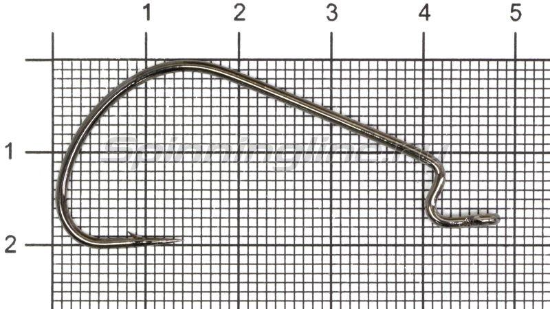 Крючок Wide Range Worm new цвет bln № 3/0 -  1