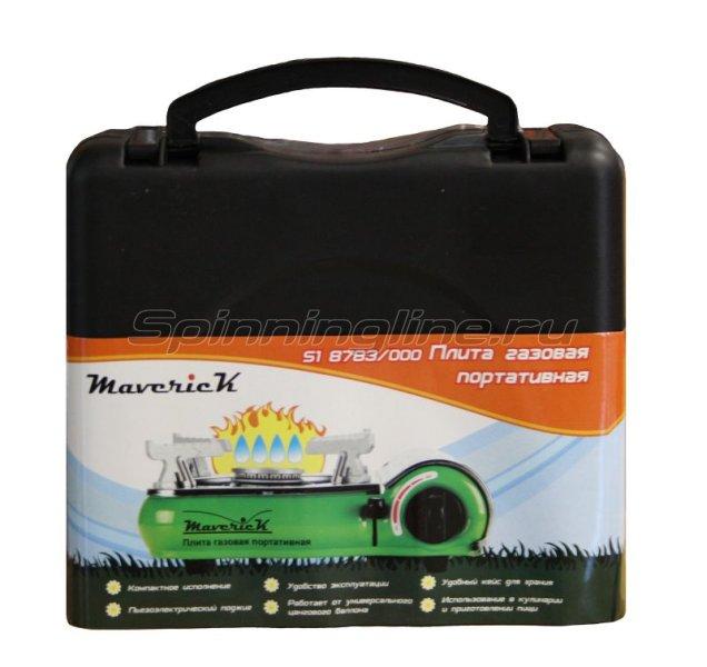 Газовая плита Maverick S-1 цв.зеленый -  1