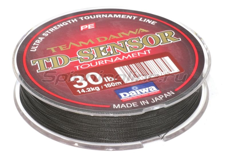 Шнур TD Sensor Tournament 150м 0,14мм -  2