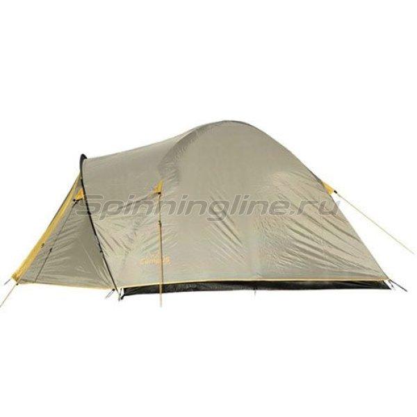Campus - Палатка туристическая Beziers 3 (stone beige 909/yellow 409) - фотография 1
