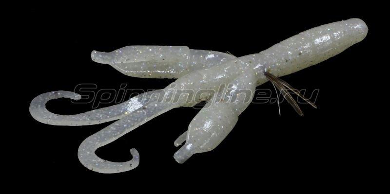 "Приманка Bys Craw 2,5"" white pearl 157B -  1"