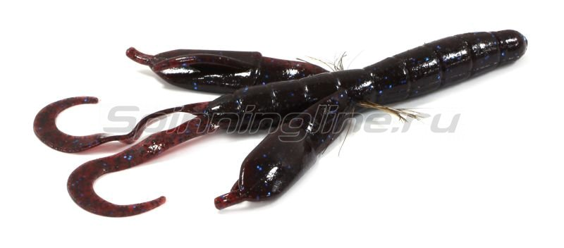 "Приманка Bys Craw Portly 5.3"" dark red/blue 147B -  1"