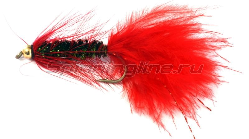 Sci Flies - Набор Woolly Bugger Red Peacock №08 - фотография 1