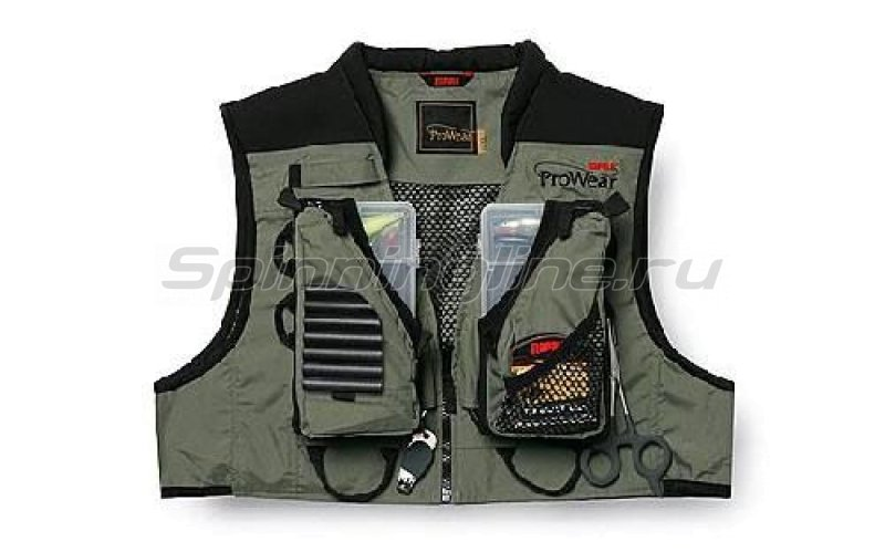 Rapala - Жилет ProWear Short Shallows Vest XXL - фотография 1