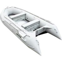 Лодка ПВХ HDX Oxygen 390 AL серая