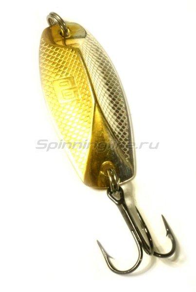 Блесна Трехгранка RB 26гр золото-серебро -  1