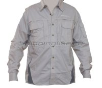 Рубашка Bowbuwn Field Shirt Ligh gray 3L