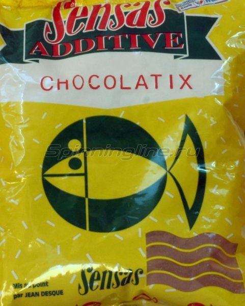 Добавка в прикорм Sensas Chocolatix 0,3 кг - фотография 1