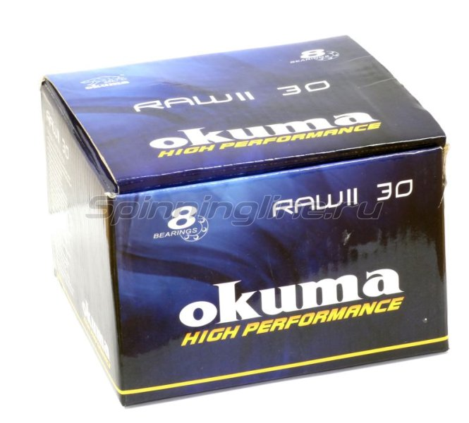 Okuma - Катушка Raw II 40 FD - фотография 8