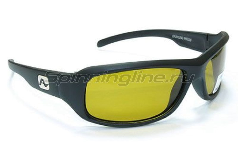 Очки Aqua Grayling Matt Black PL-Yellow - фотография 1