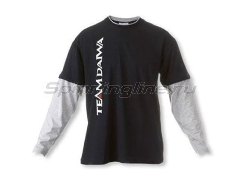 Толстовка Team Daiwa T-Shirt Navi Blue-Grey L - фотография 1