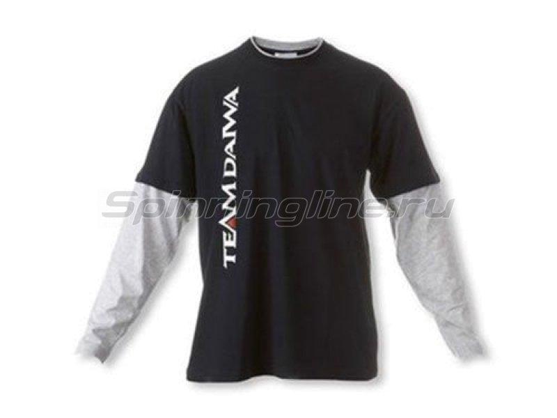 Толстовка Team Daiwa T-Shirt Navi Blue-Grey XXL - фотография 1