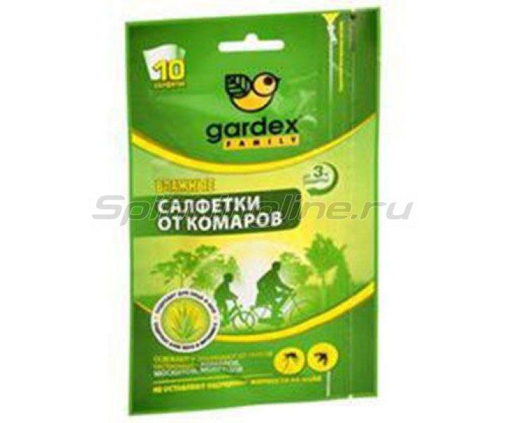 Салфетки Gardex Family влажные от комаров - фотография 1