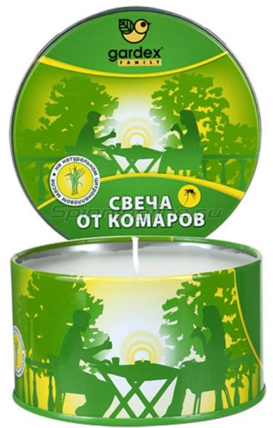 Свеча Gardex Family реппелентная от комаров -  1