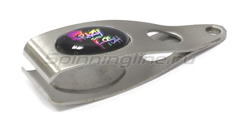 Кусачки для лески и шнура серебро -  1