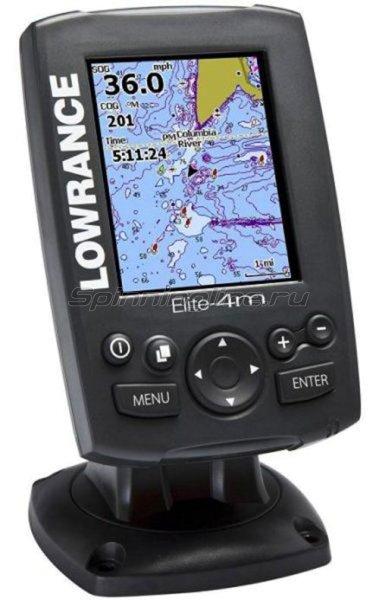 Эхолот Lowrance Elite-4m - фотография 1