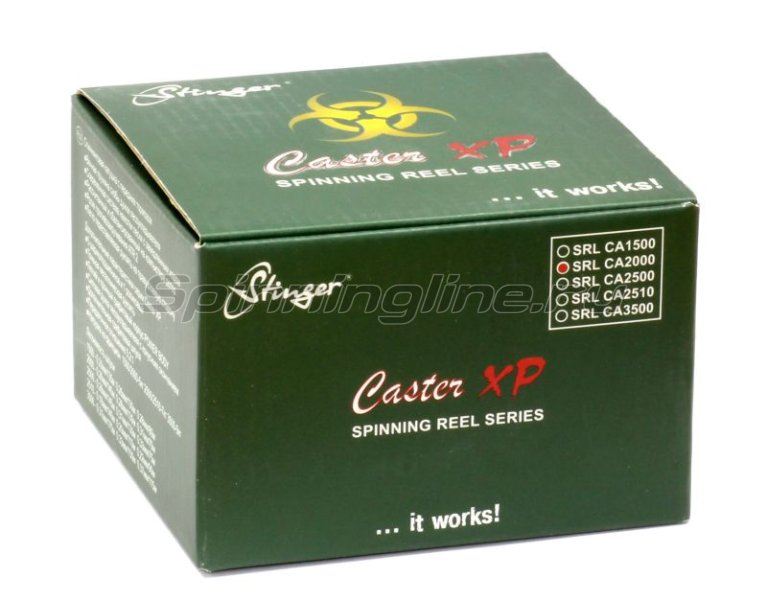Stinger - Катушка Caster XP 2510 - фотография 8