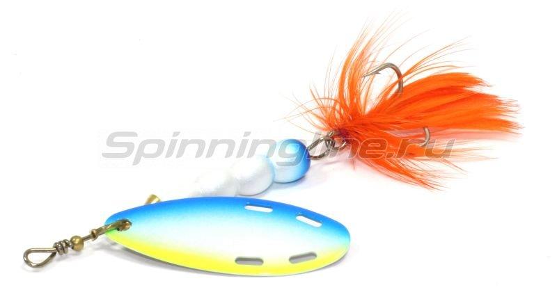 Extreme Fishing - Блесна Certain Obsession 6гр PearlWhite-WhiteBlueYellow - фотография 1