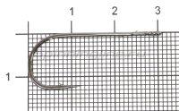 Крючок Strong Wire Worm 4 №1