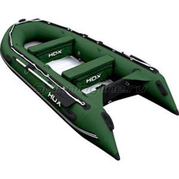 Лодка ПВХ HDX Oxygen 370 AL зеленая - фотография 1
