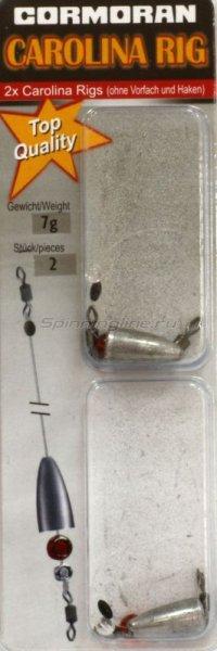 Оснастка Carolina Rig 0.30мм 21гр -  1