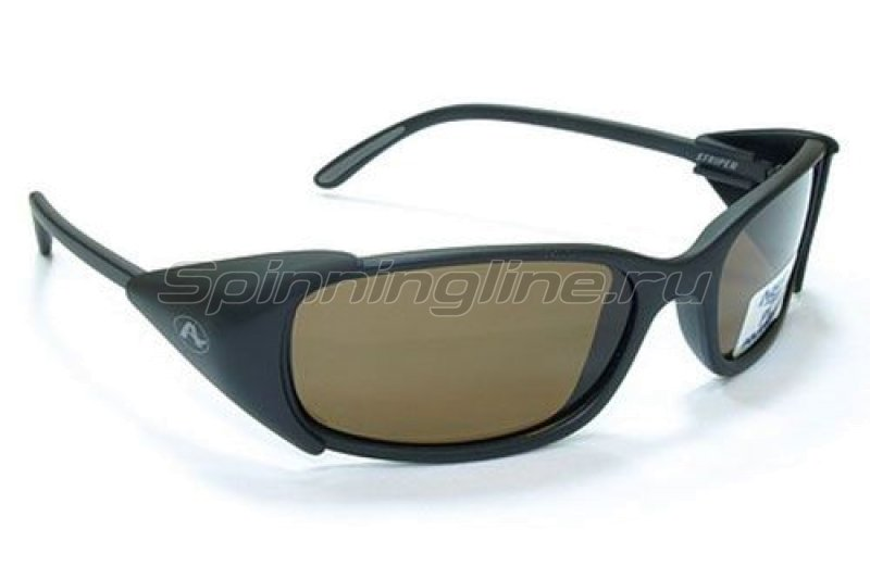 Очки Aqua Striper Matt Black PL-Brown -  1