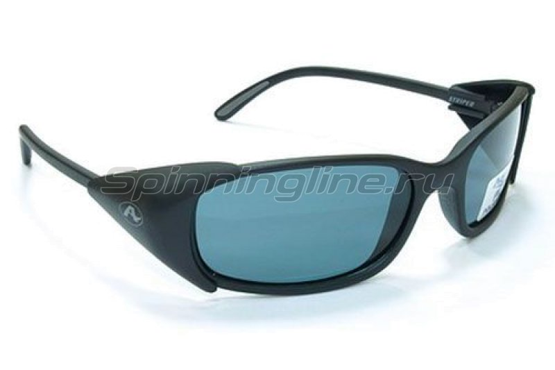 Очки Aqua Striper Matt Black PL-Grey - фотография 1