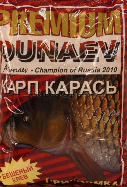 Прикормка Dunaev Premium 1кг Карп-Карась - фотография 1