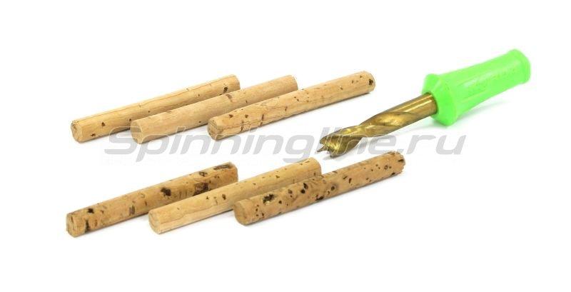 Набор Korda Drill&Cork Sticks 6мм сверло+ 6 пробковых палочек - фотография 1