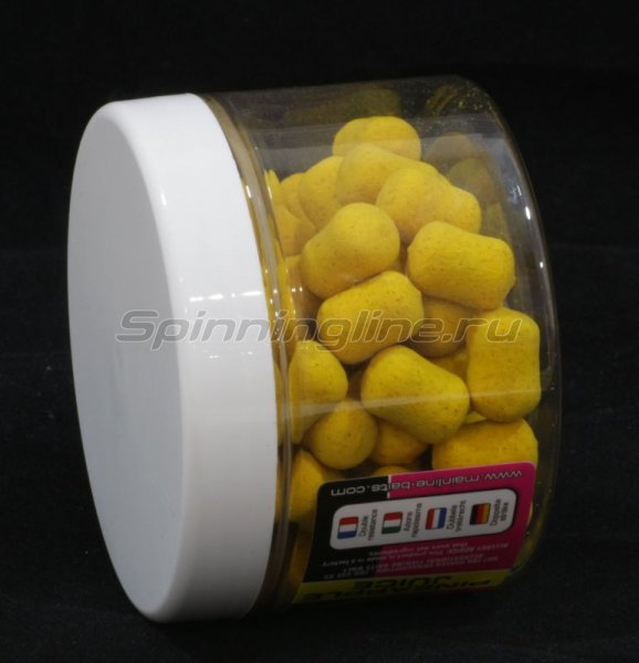 Бойлы High Visual Dumbell Pop-Ups 15мм Yellow Pineapple Juice -  2