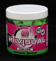 Бойлы High Visual Pop-Ups 15мм Bright Green Indian Spice