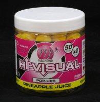 Бойлы Mainline High Visual Pop-Ups 15мм Yellow Pineapple Juice