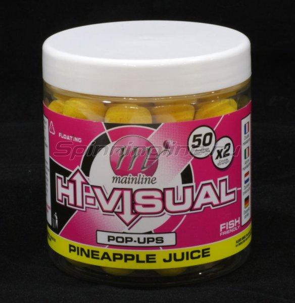 Бойлы High Visual Pop-Ups 15мм Yellow Pineapple Juice -  1